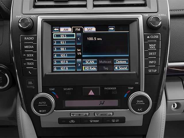 2013 Toyota Camry Prices and Values Sedan 4D XLE I4 stereo system
