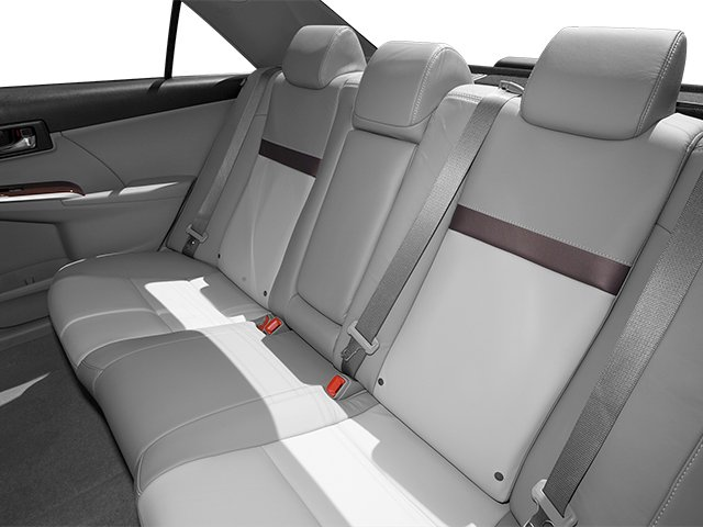 2013 Toyota Camry Prices and Values Sedan 4D XLE I4 backseat interior