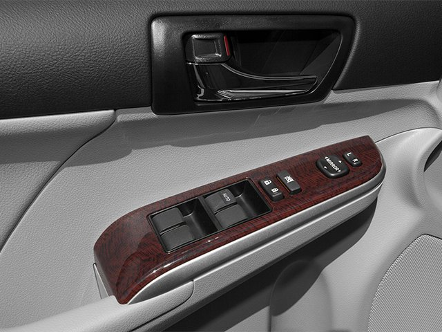 2013 Toyota Camry Prices and Values Sedan 4D XLE I4 driver's side interior controls