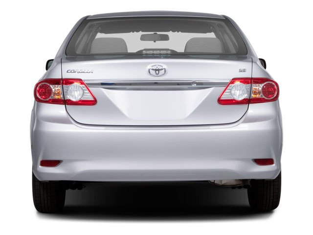2013 Toyota Corolla Prices and Values Sedan 4D LE I4 rear view
