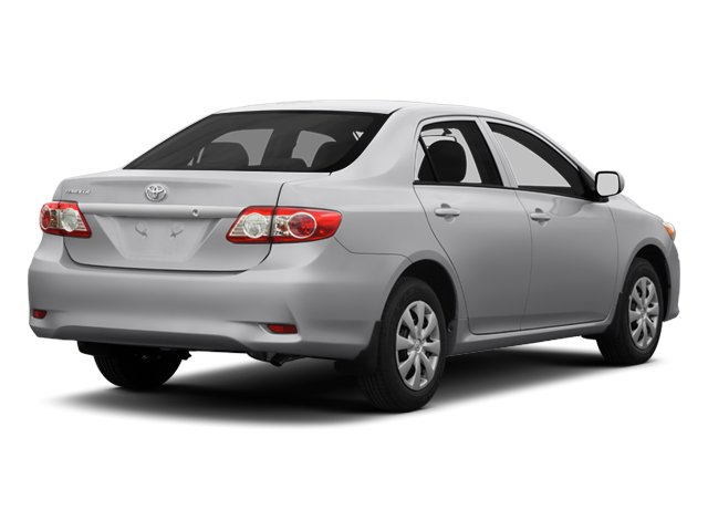 2013 Toyota Corolla Prices and Values Sedan 4D L I4 side rear view