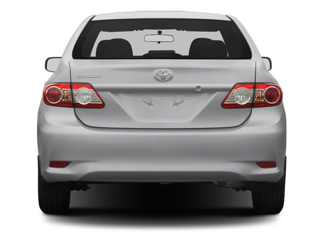 2013 Toyota Corolla Prices and Values Sedan 4D L I4 rear view