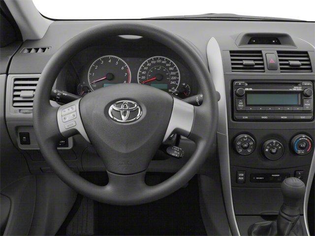 2013 Toyota Corolla Prices and Values Sedan 4D L I4 driver's dashboard