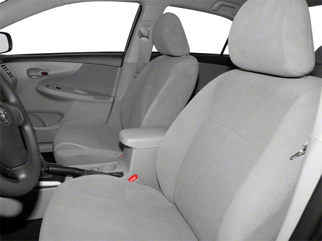 2013 Toyota Corolla Prices and Values Sedan 4D L I4 front seat interior