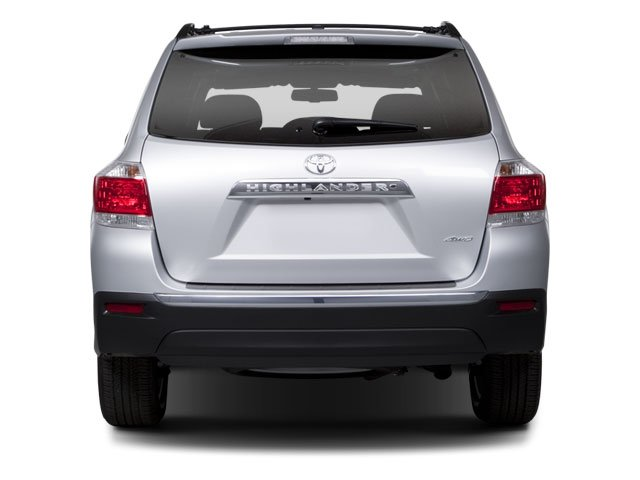 2013 Toyota Highlander Prices and Values Utility 4D Plus 2WD V6 rear view