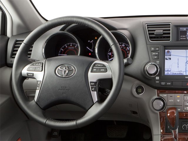 2013 Toyota Highlander Prices and Values Utility 4D Plus 2WD V6 driver's dashboard