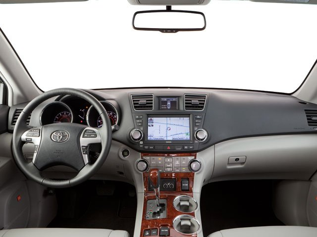 2013 Toyota Highlander Prices and Values Utility 4D Plus 2WD V6 full dashboard