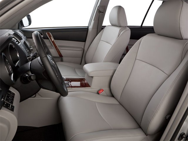 2013 Toyota Highlander Prices and Values Utility 4D Plus 2WD V6 front seat interior
