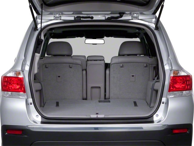 2013 Toyota Highlander Prices and Values Utility 4D Plus 2WD V6 open trunk