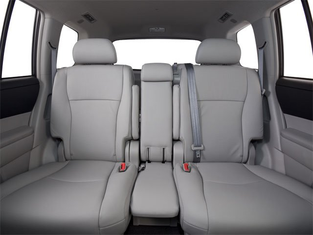 2013 Toyota Highlander Prices and Values Utility 4D Plus 2WD V6 backseat interior