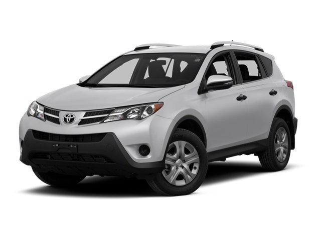 2013 Toyota RAV4 Pictures RAV4 Utility 4D LE AWD I4 photos side front view