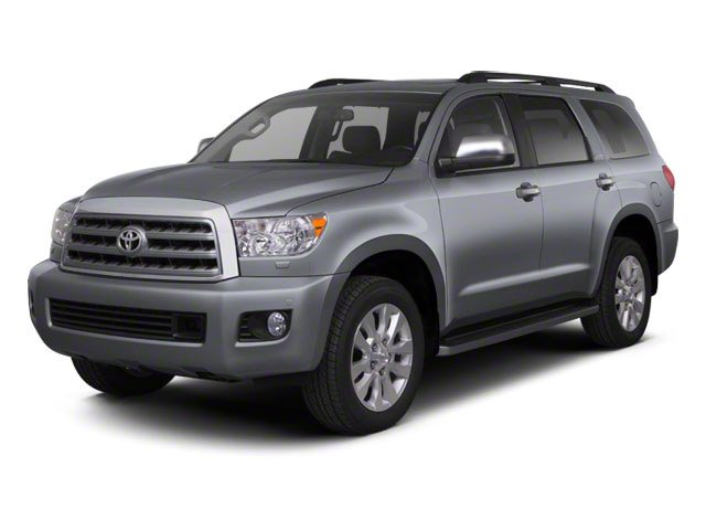 2013 Toyota Sequoia Pictures Sequoia Utility 4D Platinum 2WD V8 photos side front view