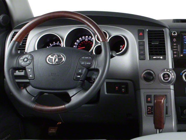 2013 Toyota Sequoia Pictures Sequoia Utility 4D Platinum 2WD V8 photos driver's dashboard