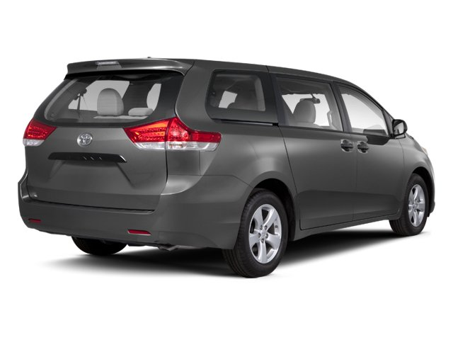 2013 Toyota Sienna Prices and Values Wagon 5D Limited V6 side rear view
