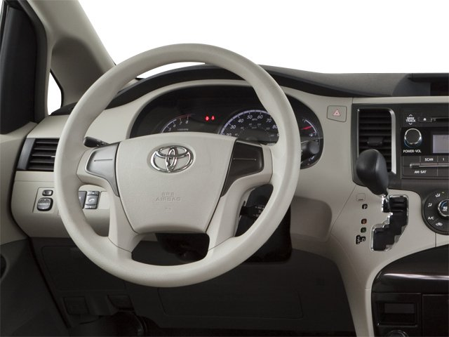 2013 Toyota Sienna Prices and Values Wagon 5D Limited V6 driver's dashboard