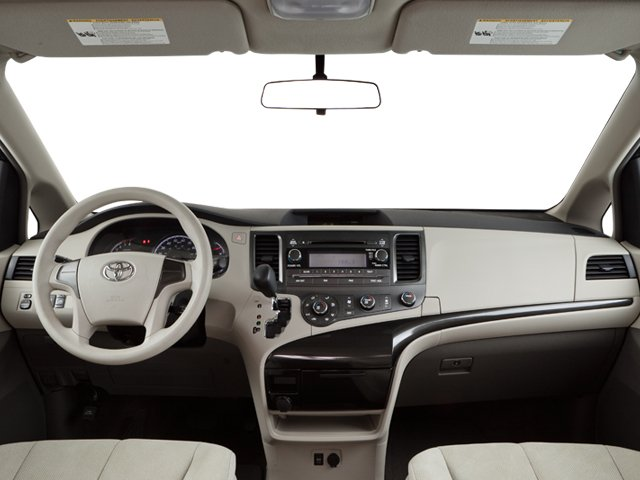 2013 Toyota Sienna Prices and Values Wagon 5D Limited V6 full dashboard