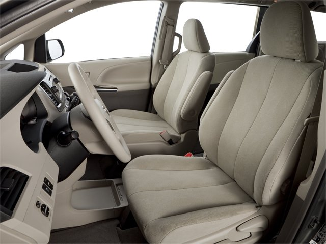 2013 Toyota Sienna Prices and Values Wagon 5D Limited V6 front seat interior