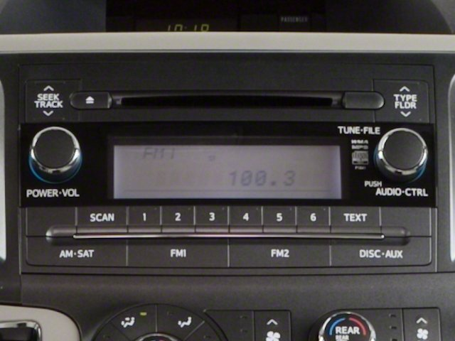 2013 Toyota Sienna Prices and Values Wagon 5D Limited V6 stereo system