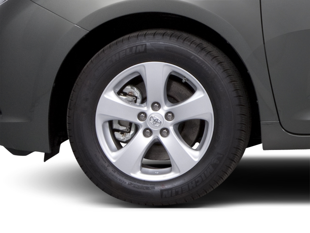 2013 Toyota Sienna Prices and Values Wagon 5D Limited V6 wheel