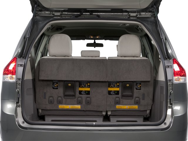 2013 Toyota Sienna Prices and Values Wagon 5D Limited V6 open trunk