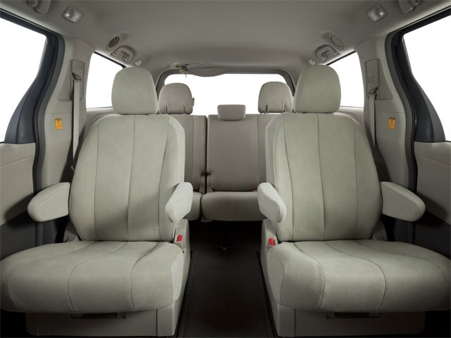 2013 Toyota Sienna Prices and Values Wagon 5D Limited V6 backseat interior