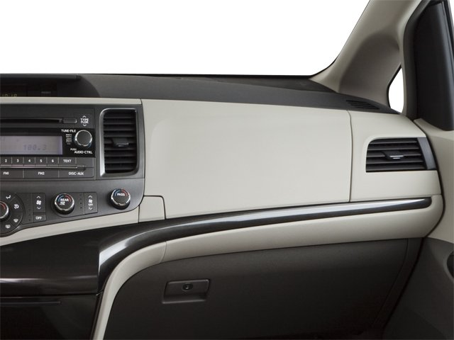 2013 Toyota Sienna Prices and Values Wagon 5D Limited V6 passenger's dashboard
