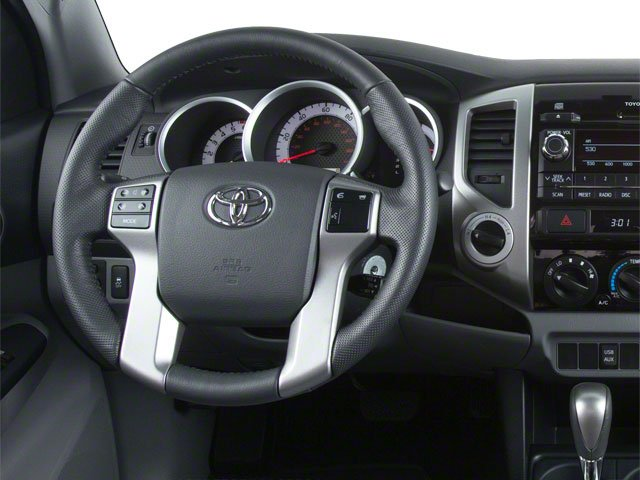 2013 Toyota Tacoma Pictures Tacoma Base Access Cab 4WD V6 photos driver's dashboard