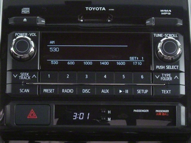 2013 Toyota Tacoma Pictures Tacoma Base Access Cab 4WD V6 photos stereo system