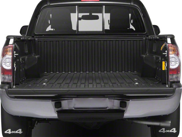 2013 Toyota Tacoma Pictures Tacoma Base Access Cab 4WD V6 photos open trunk