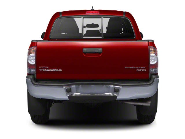 2013 Toyota Tacoma Prices and Values PreRunner 2WD V6 rear view