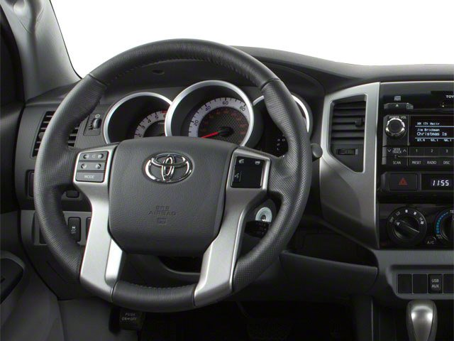 2013 Toyota Tacoma Prices and Values PreRunner 2WD V6 driver's dashboard