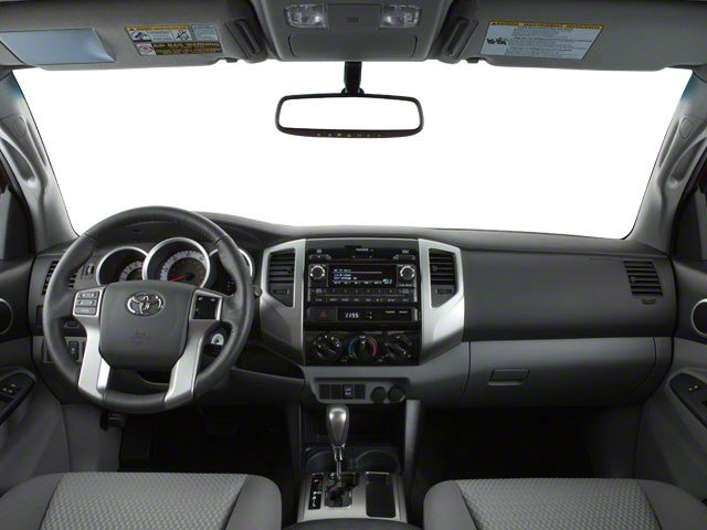 2013 Toyota Tacoma Prices and Values PreRunner 2WD V6 full dashboard