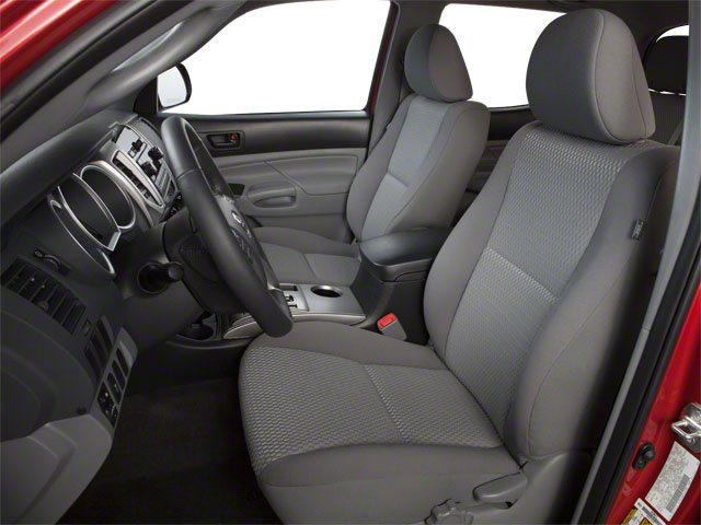 2013 Toyota Tacoma Prices and Values PreRunner 2WD V6 front seat interior