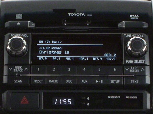 2013 Toyota Tacoma Prices and Values PreRunner 2WD V6 stereo system