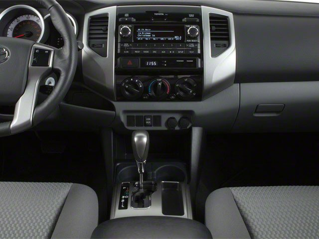 2013 Toyota Tacoma Prices and Values PreRunner 2WD V6 center console