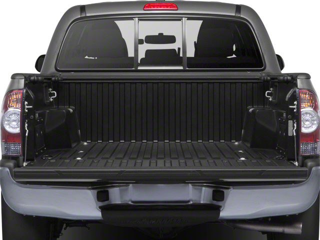2013 Toyota Tacoma Prices and Values PreRunner 2WD V6 open trunk