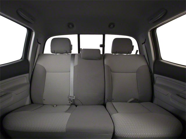 2013 Toyota Tacoma Prices and Values PreRunner 2WD V6 backseat interior