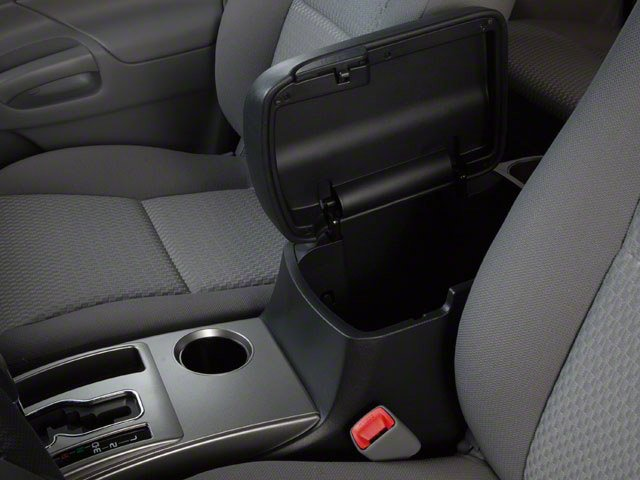 2013 Toyota Tacoma Prices and Values PreRunner 2WD V6 center storage console