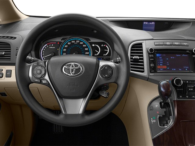 2013 Toyota Venza Prices and Values Wagon 4D LE AWD driver's dashboard