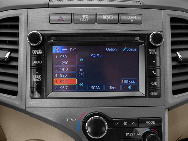 2013 Toyota Venza Prices and Values Wagon 4D LE AWD stereo system