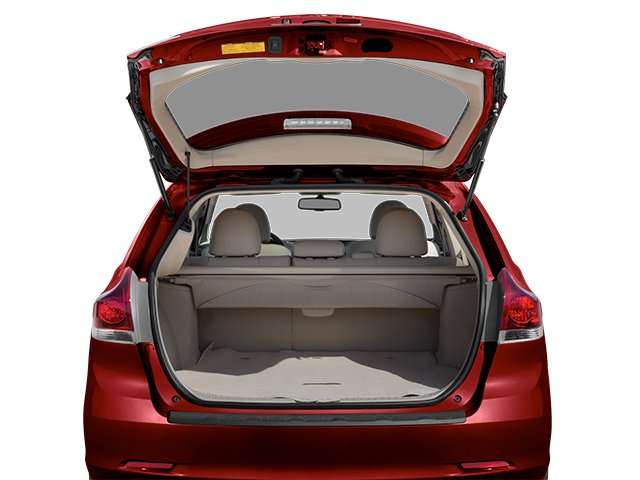 2013 Toyota Venza Prices and Values Wagon 4D LE AWD open trunk