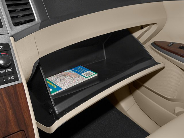 2013 Toyota Venza Prices and Values Wagon 4D LE AWD glove box