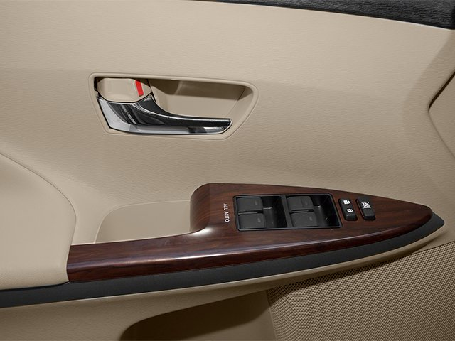2013 Toyota Venza Prices and Values Wagon 4D LE AWD driver's side interior controls