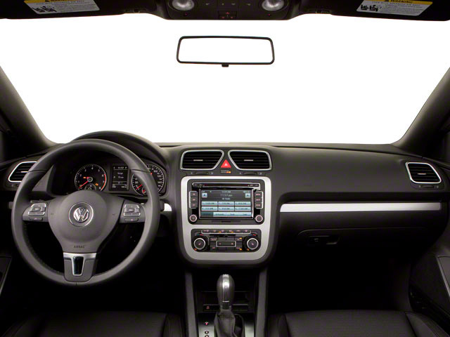2013 Volkswagen Eos Prices and Values Convertible 2D Executive I4 Turbo full dashboard