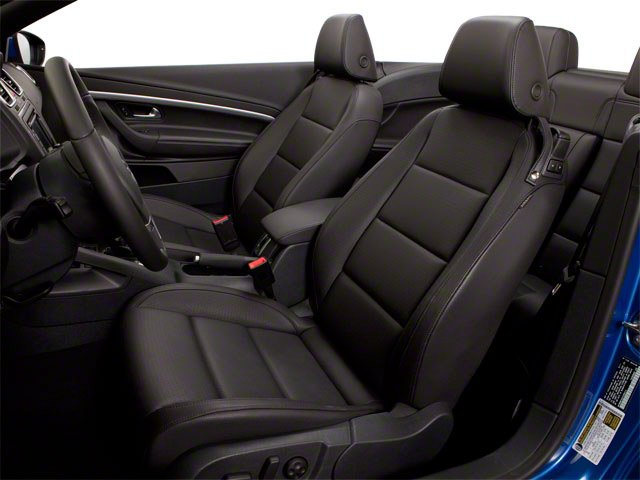 2013 Volkswagen Eos Prices and Values Convertible 2D Executive I4 Turbo front seat interior