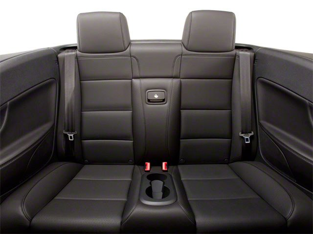 2013 Volkswagen Eos Prices and Values Convertible 2D Executive I4 Turbo backseat interior
