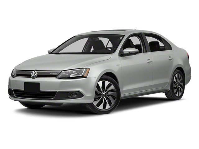 2013 Volkswagen Jetta Sedan Prices and Values Sedan 4D I4 Turbo Hybrid side front view