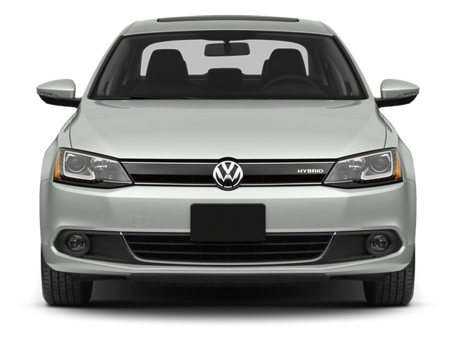 2013 Volkswagen Jetta Sedan Prices and Values Sedan 4D I4 Turbo Hybrid front view