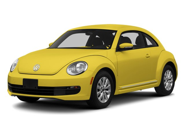 2013 Volkswagen Beetle Coupe Pictures Beetle Coupe 2D 2.5 I5 photos side front view