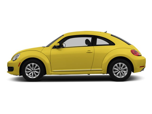 2013 Volkswagen Beetle Coupe Pictures Beetle Coupe 2D 2.5 I5 photos side view